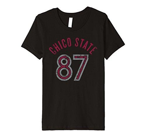 Kids Chico State University Wildcats T Shirt Csuw1005 4 Black
