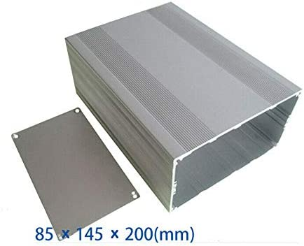 Caja de instrumentos de aluminio, caja de proyectos de aluminio ...