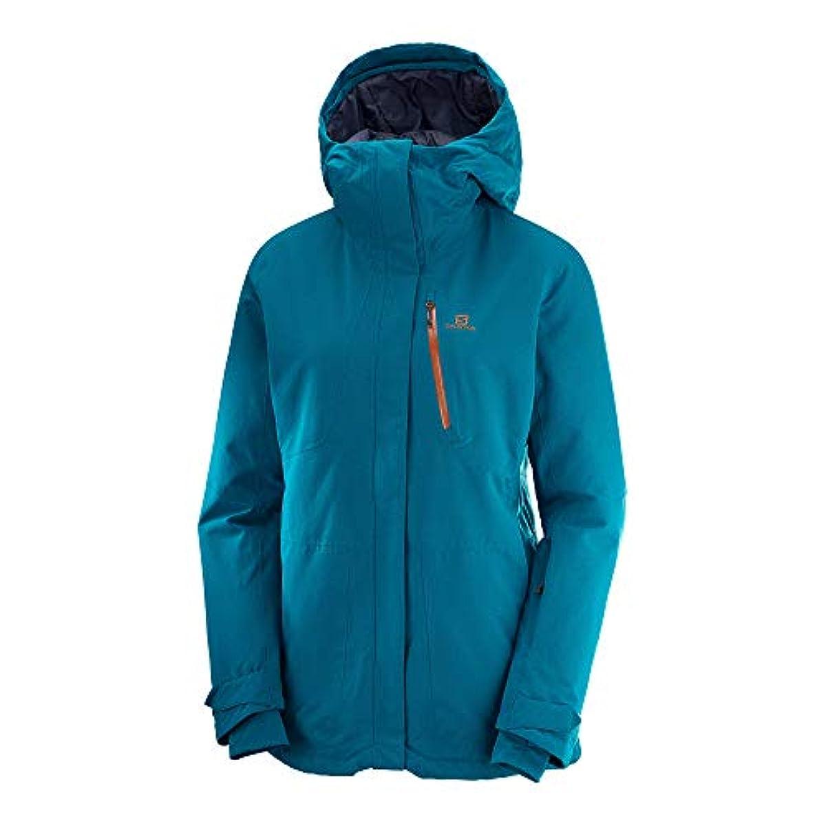 [해외] 살로몬SALOMON 스키 웨어 레이디스 재킷 QUEST SNOW JACKET WOMEN 퀘스트quest 스노우 재킷 레이디스 2019-20년 모델 사이즈XS~M