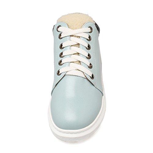 Dear Time Women Fashion Lace-up Sport Shoes Sneakers Blue Ts59Ez