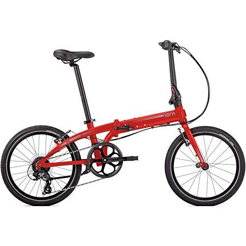TERN (ターン) 折り畳み自転車 LINK C8 (リンク C8) 2019モデル (マットレッド/シルバー) 20インチ   B07JHKPY8T
