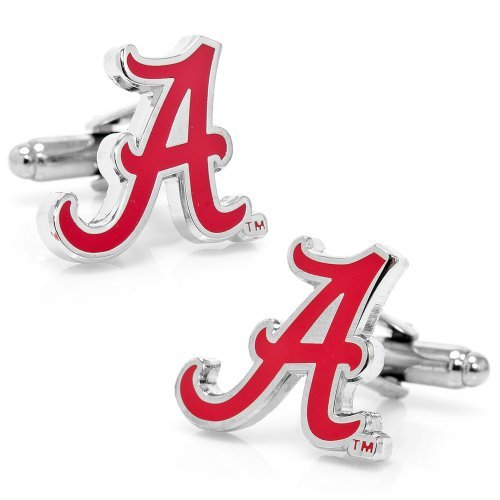 University of Alabama Crimson Tide Cufflinks Novelty 1 x 1in