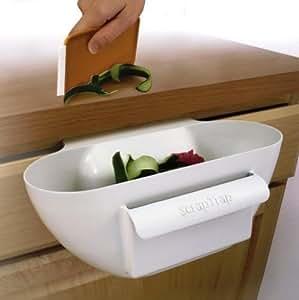 Crumb Clean - Space Saver Kitchen Peelings, Waste, Crumbs Scrap Trap Holder