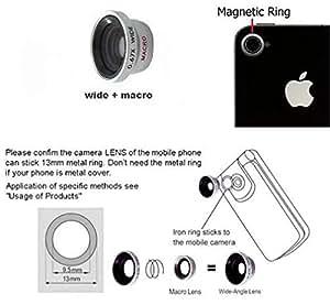 0.67x Lens Fisheye Macro Kit For LG G Flex 2 LG G3 Stylus LG G3 LG G3 Mini Beat LG G2 Mini