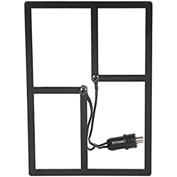 HD Frequency Cable Cutter Indoor Outdoor HD Digital TV Antenna Mini (Discontinued by Manufacturer)