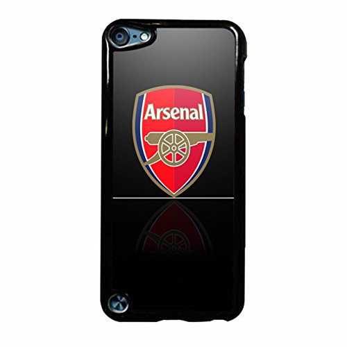 Arsenal Logo 2 iPod Touch 6 Case (Black Plastic)