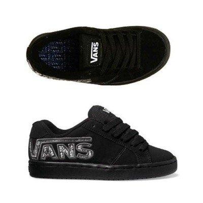 Vans Widow (doble V) negro/negro Kids Shoe de237h