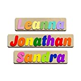 personalized puzzles for kids - Jumbo Fonts Personalized Wooden Name Puzzles Child's Name, Custom Made Puzzle From Wood Word