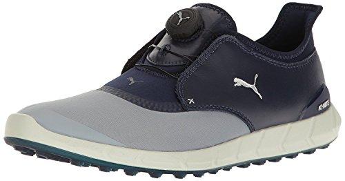 - Puma Men's Ignite Spikeless Sport Disc Golf-Shoes, Quarry-Peacoat, 10 Medium US