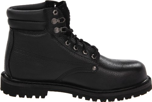 Dickies Mens Raider Acier-toe Chaussure De Travail Noir