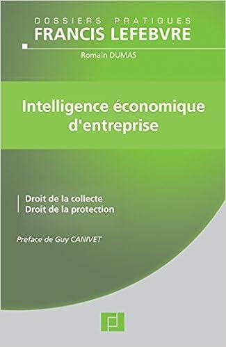 En ligne Intelligence économique d'entreprise pdf epub