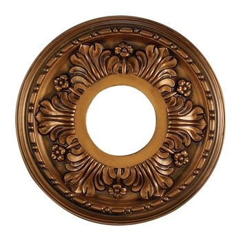 Elk M1000AB Acanthus Ceiling Medallion, 11-Inch, Antique Bronze Finish