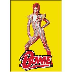 Bowie David Pose, Officially Licensed Original Artwork, Premium Quality MAGNET - 2.5