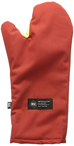 Conventional Oven Mitt (San Jamar CTC17 Cool Touch Conventional Mitt, NSF Listed, Protects Up to 500 degrees F, 17