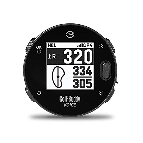 Golf Buddy Voicex Easy-to-Use Smart Talking Golf GPS
