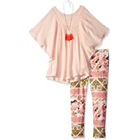Amy Byer Girls' Big Fashion Top and Legging Outfit Set,
