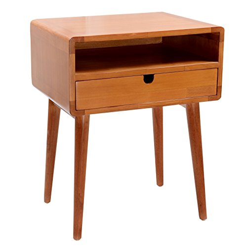 Porthos Home Anais Side Table, Natural