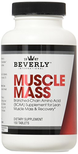 Beverly International Muscle Mass Tablets, 150 Count (Beverly International Nutrition Supplements)