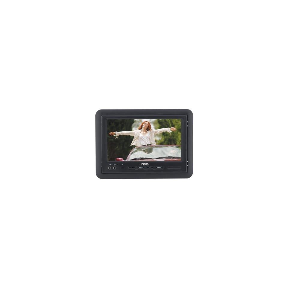 Naxa NCV 573 7 TFT LCD Car Headrest Monitor with Remote Control