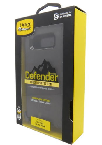 OtterBox DEFENDER SERIES Case for Samsung Galaxy Note8  - BLACK