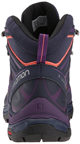 Salomon Womens X Ultra 3 Mid Gtx W Hikingschoen Acai
