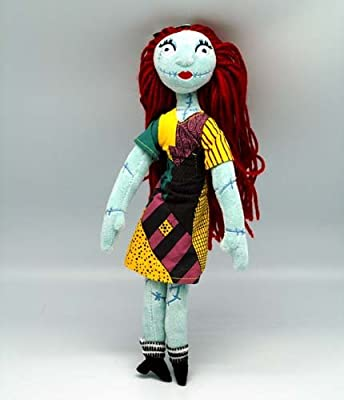 amazoncom disney nightmare before christmas plush sally doll toys games - Nightmare Before Christmas Sally Doll