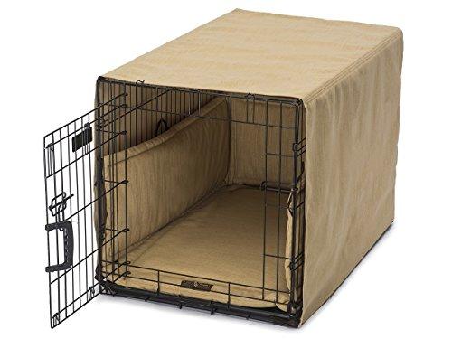 Jax & Bones Textured Linen Crate Cover Ups Bed Windsor Gold-X-Large by Jax & Bones (Image #1)
