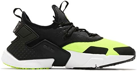 Nike Air Huarache Drift Hombre Running Trainers AH7334 Sneakers Zapatos (UK 11.5 US 12.5 EU 47, Volt Black White 700): Amazon.es: Zapatos y complementos
