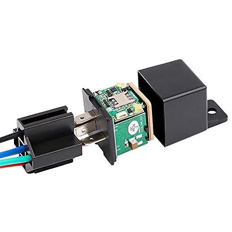 Relés de Coche GPS Tracker Car Shock Alarm GPS gsm ...
