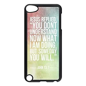 Fashion Protection Bible Verse Life Quotes Design Hard Cover Case For iPod Touch 5th Generation