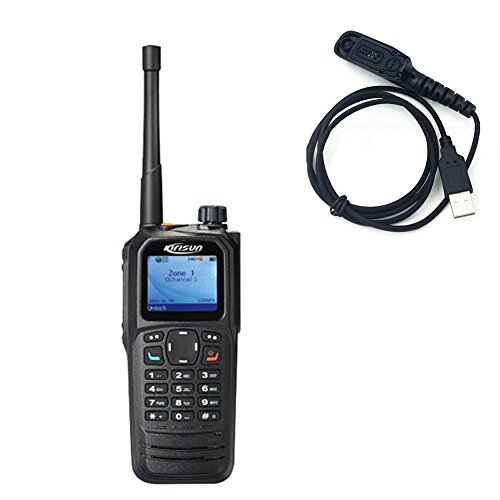 With GPS Kirisun DP770 DMR UHF 400-470MHz IP67 Water-proof a