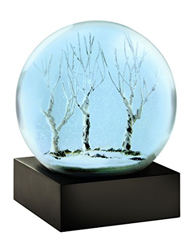 Blue Winter Snow Globe by - City Macy York New