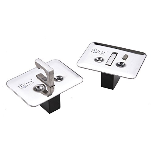 Bully WTD-810 Pop-up Tie Down Clamps - Stainless Steel