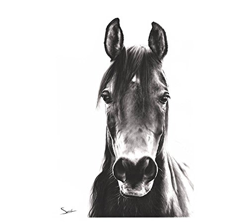 Horse Oil Painting Giclee Print