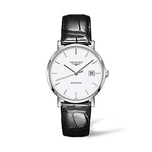 Longines Reloj Analógico para Hombre de Automático con Correa en Cuero L49104122 12