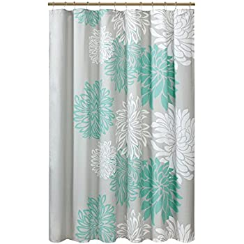 Amazon.com: Intelligent Design ID70365 Nadia Shower Curtain 72x72 Teal: Home  Kitchen