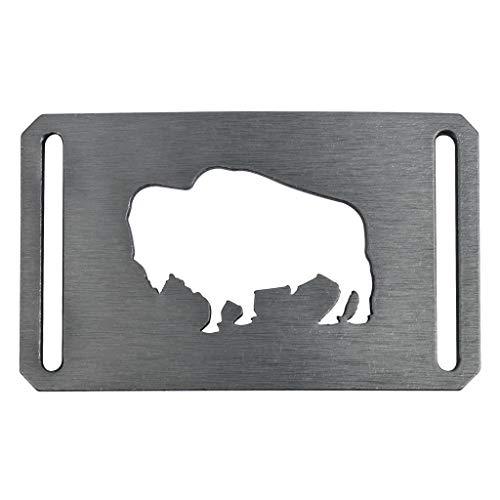 Men's Web Belt GRIP6 Buffalo Belt Buckle (Buffalo Buckle)