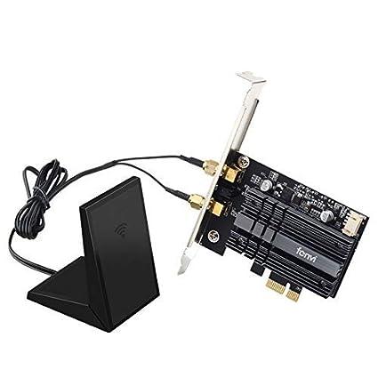 MQUPIN fenvi Tarjeta WiFi de Doble Banda AX200, PCIE WiFi ...