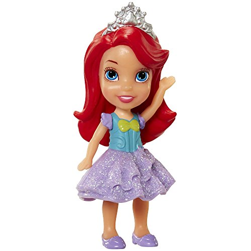 My First Disney Princess Sparkle Collection Mini Toddler Doll Mermaid Ariel by Jakks Pacific from Jakks Pacific