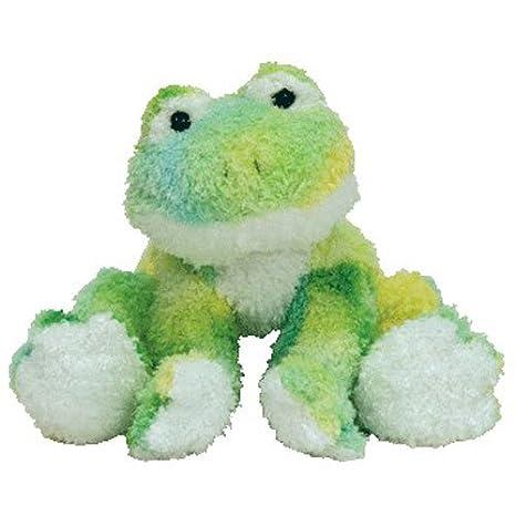 e526f7e75cd Amazon.com  Ty Beanie Babies Webley - Frog  Toys   Games