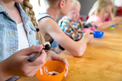 Wood Toddler Spoon, 7 in Handmade Wooden Baby Spoon, Hardwood and Heirloom Quality, A Keepsake Wood Feeding Spoon - Jatoba by Earlywood (Image #5)