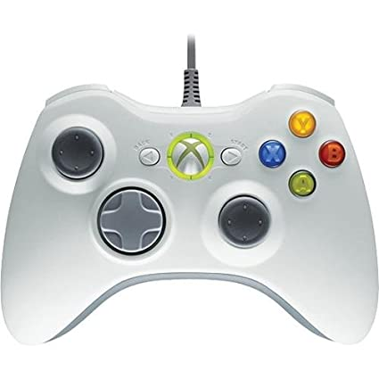0c8eebabc643eb Amazon.com  Microsoft Xbox 360 Controller for Windows - White  Electronics
