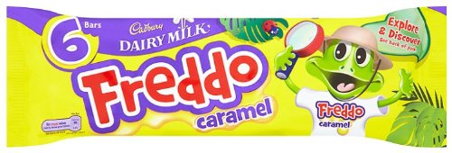 Cadbury Freddo Caramel Bar 118 g (Pack of 10) ()