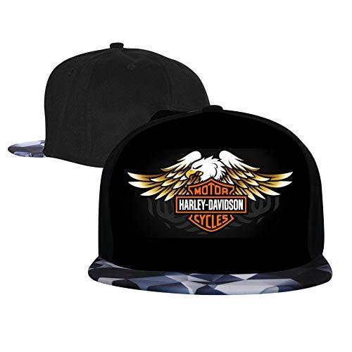 - Top Level Top Strong_Harley-Davidson Baseball Hat Unisex Sports Adjustable Plain Cap Hip-Hop Hat for Kids/Men/Women Gray
