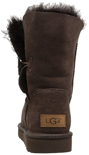 UGG Damen Bailey Button II Winterstiefel Schokolade