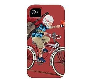 21st Century Hero iPhone 4/4s Auburn Tough Phone Case - Design By Humans