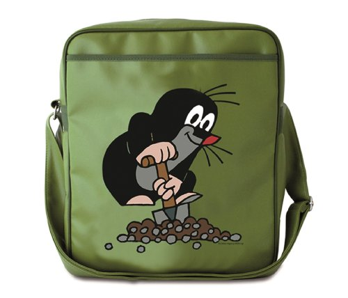Krtko bandolera - La bolsa de mensajero del hombre - Der Kleine Maulwurf - Diseño original con licencia - LOGOSHIRT