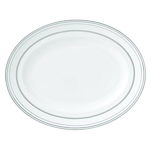 - Wedgwood Radiante Oval Platter, 13.75
