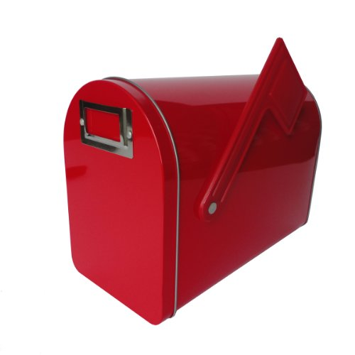 Hampton Art Wrap It Up Mailbox  Medium  Red