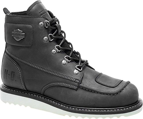 Harley-Davidson Men's Hagerman 5.5-Inch Motorcycle Boots D93469 (Black, 9.5)